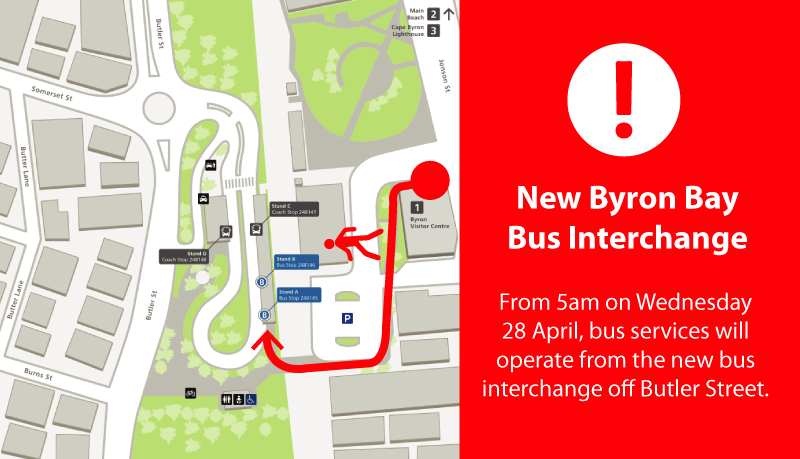New Interchange Byron Bay